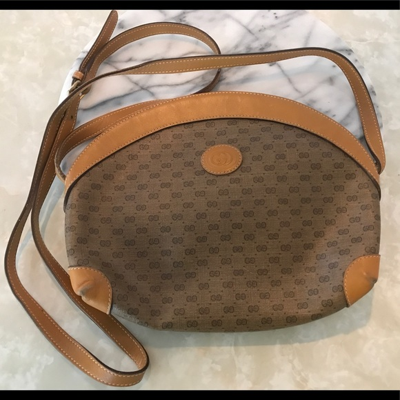 1b23ae79a6d Gucci Bags | Vintage Coated Canvas Crossover Bag | Poshmark